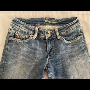 Ladies Miss Me Distressed Jeans